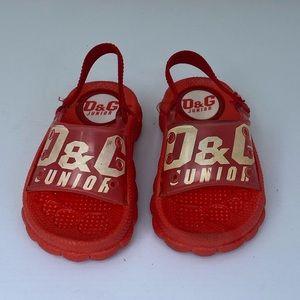 D&G Junior Red Sandals**US 4-5**$345